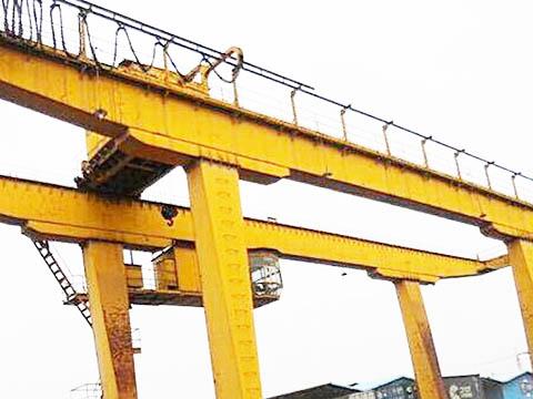 Козловые краны с двухбалочным мостом