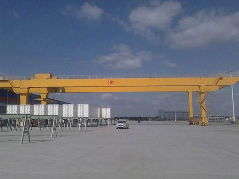 Продам козловой кран КДКК 10 тонн