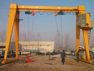 Заказать козловой кран с кабиной управления из Китая