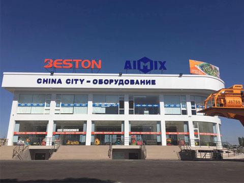 Магазин AIMIX - купить козловой кран в Узбекистан