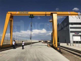 Заказать козловой кран 10 тонн для продажи в Узбекистане